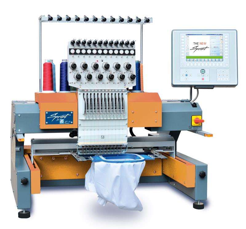 ZSK Single Head Industrial Embroidery Machine