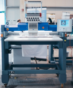 German Engineered Embroidery Equipment - Stitch 1 garment at a time