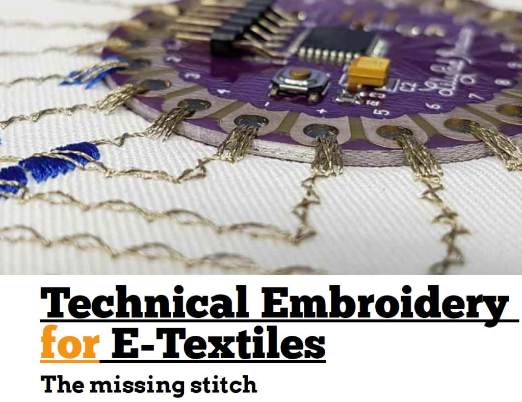 Technical Embroidery for E-Textiles
